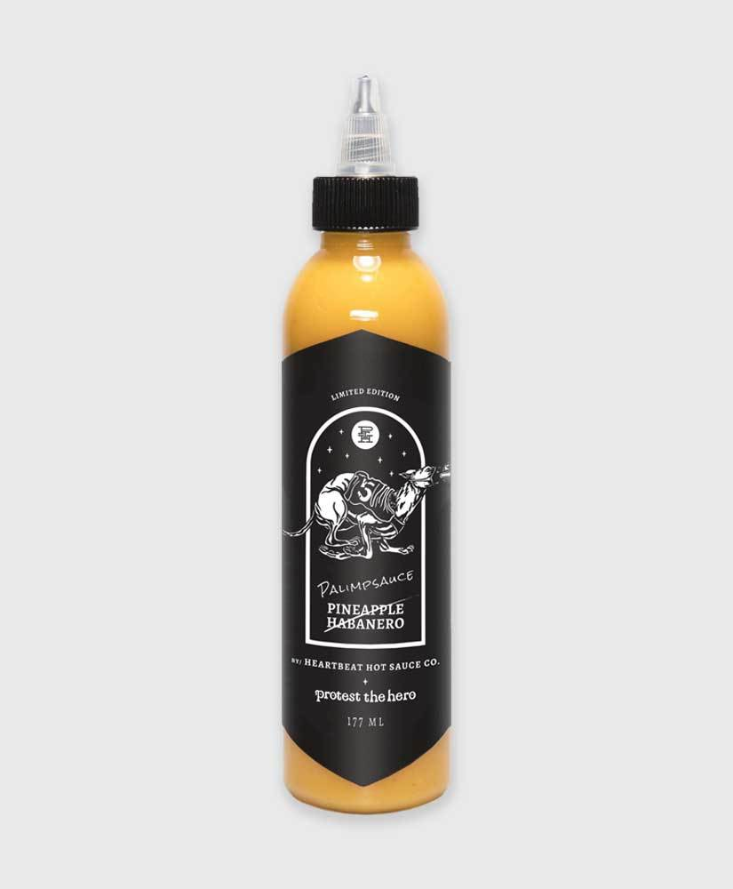Protest The Hero - Palimpsauce! - PTH / Heartbeat Hot Sauce Collab