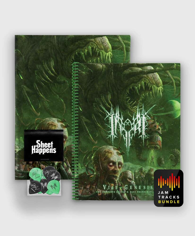 Inferi - Vile Genesis - Deluxe SIGNED Book Bundle