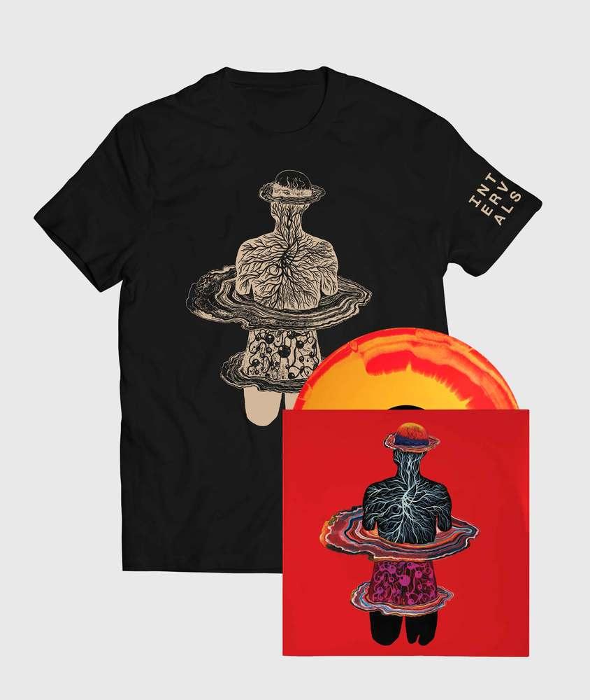 Intervals - Vinyl + Emblem T-Shirt - Vinyl + Emblem T-Shirt Bundle