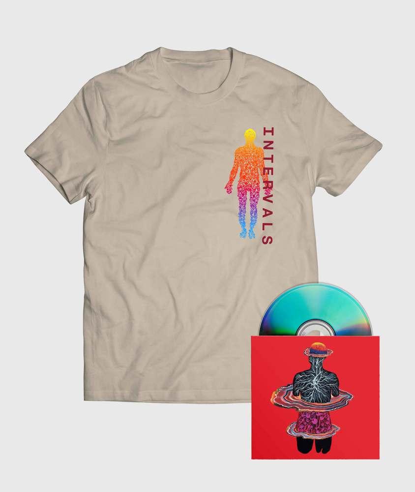 Intervals - CD + Spectrum T-Shirt - CD + Spectrum T-Shirt Bundle