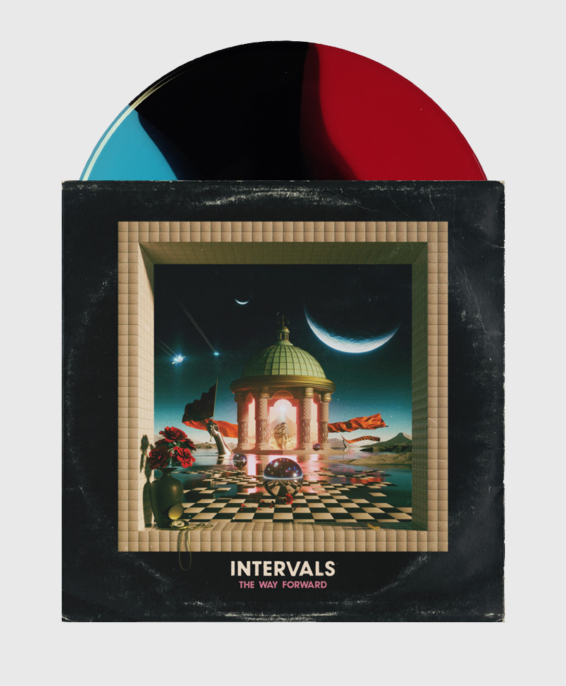 Intervals - The Way Forward - Tricolour Wave Vinyl