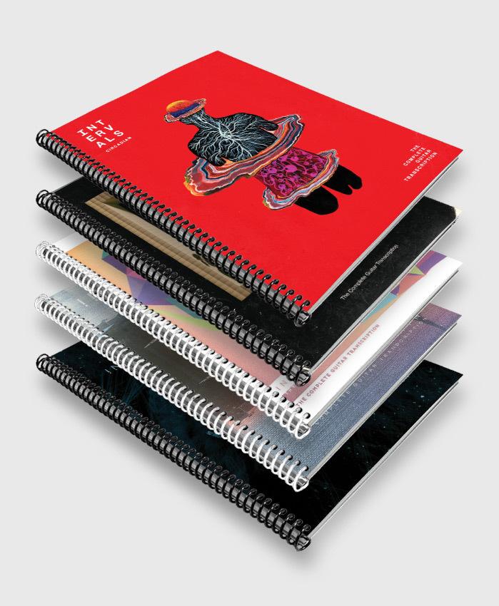Intervals - Anthology 5-Pack - The Complete Guitar Transcriptions