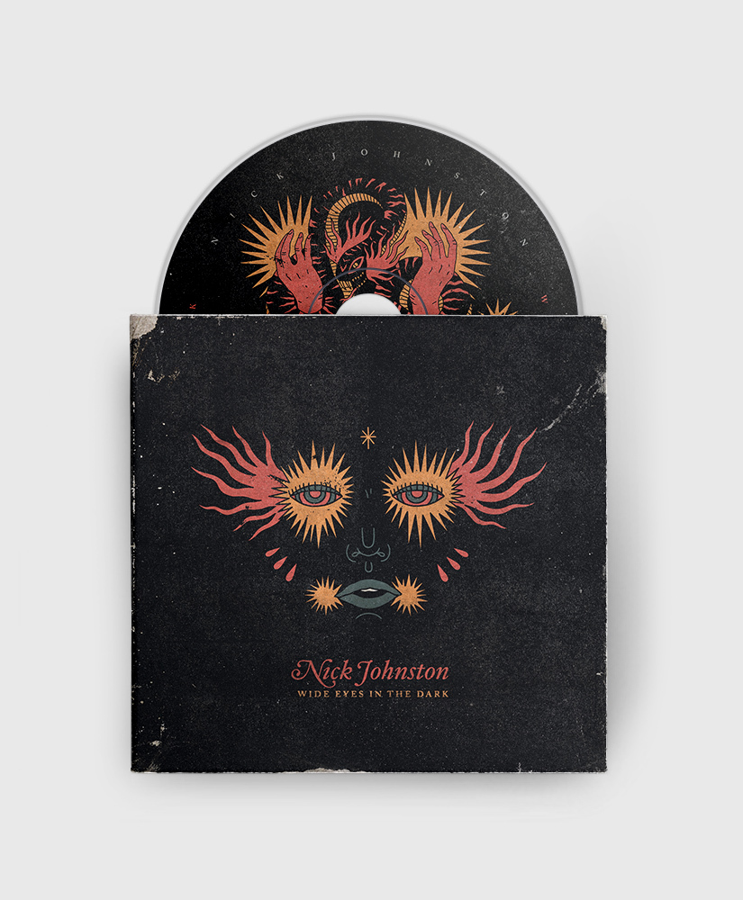 Nick Johnston - Wide Eyes in the Dark - CD