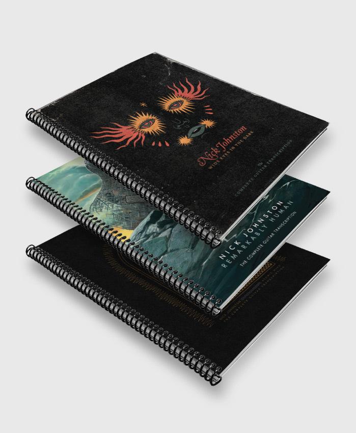 Nick Johnston - Anthology 3-Pack - The Complete Guitar Transcriptions
