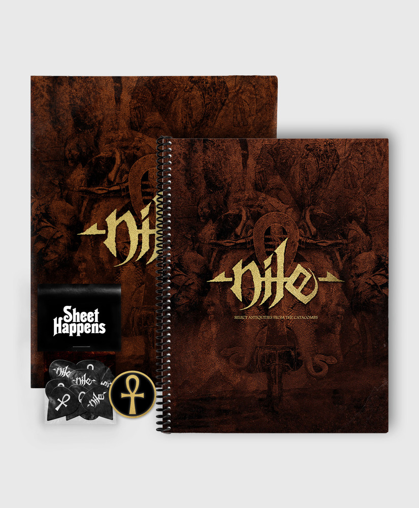Nile - Select Antiquities From the Catacombs - Deluxe SIGNED Book Bundle