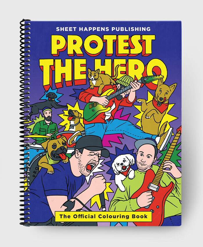 Protest The Hero - The Official Colouring Book - The Official Colouring Book