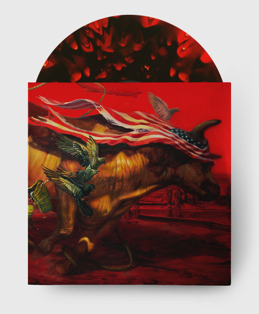 Protest The Hero - Palimpsest - Black + Red Ghostly Vinyl