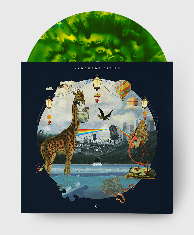 Plini - Handmade Cities - Lemon Lime Ghostly Vinyl