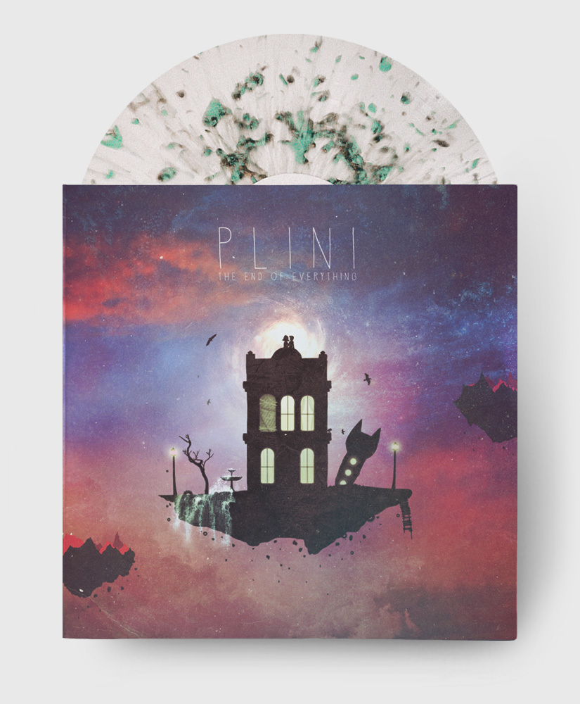 Plini - The End of Everything - Clear + Splatter Vinyl