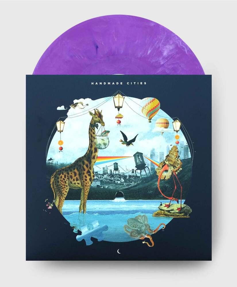 Plini - Handmade Cities - Electric-Purple Marble Vinyl