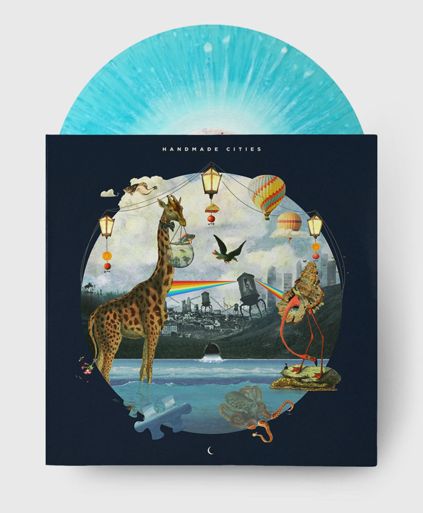 Plini - Handmade Cities - Blue Cascade Burst Vinyl