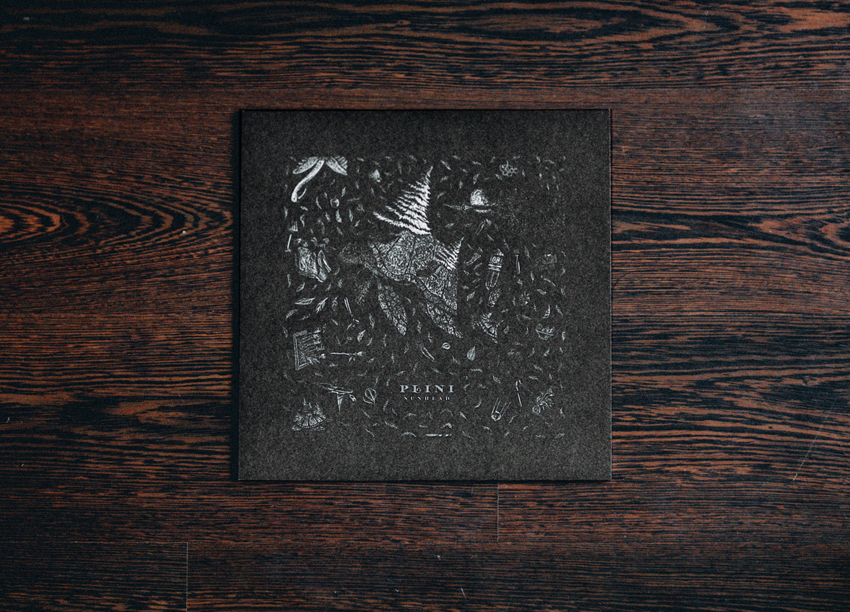 Plini Sunhead Salt Charcoal Vinyl Sheet Happens