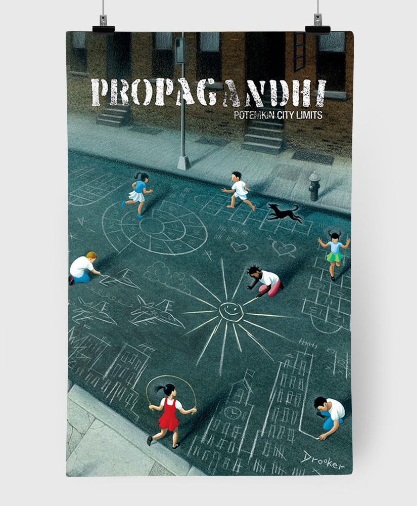 Propagandhi - Potemkin City Limits - 11x17 Print