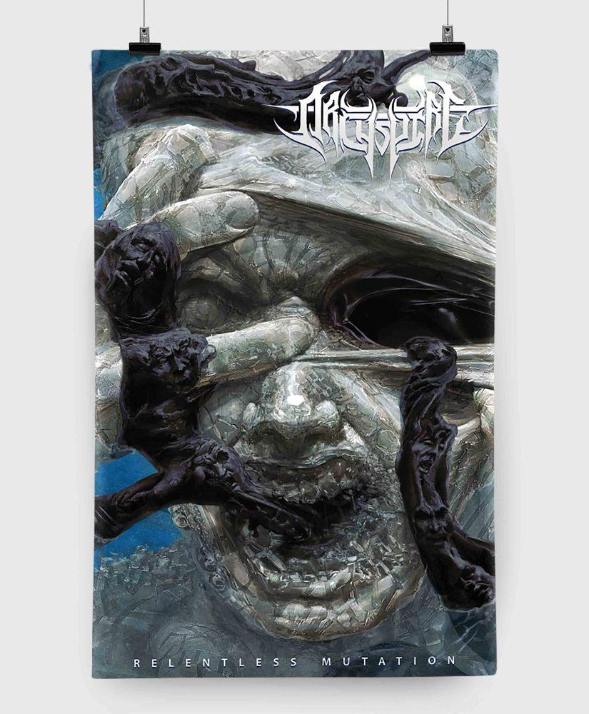 Archspire - Relentless Mutation - 11x17 Print