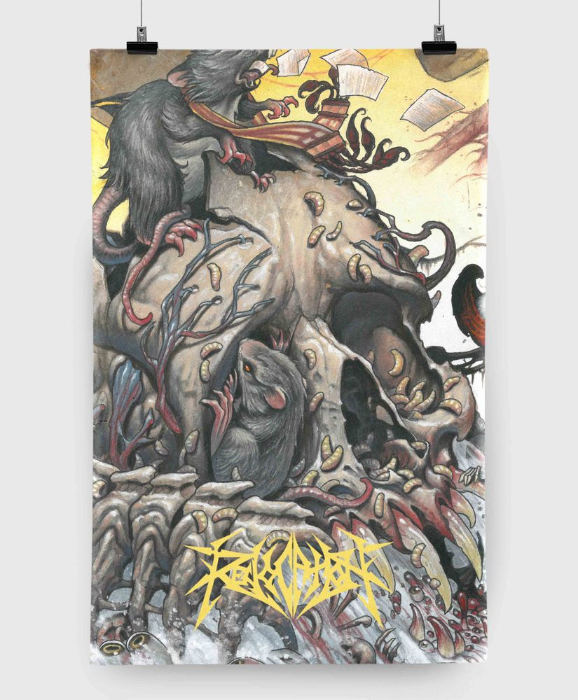Revocation - Great Is Our Sin - 11x17 Print