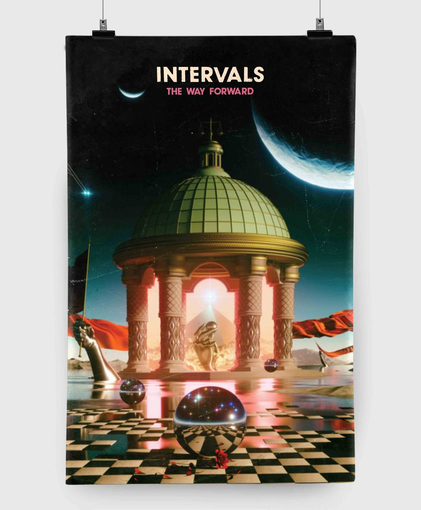 Intervals - The Way Forward - 11x17 Print