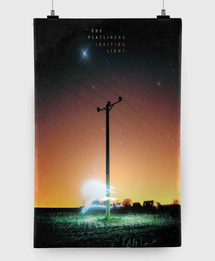 The Flatliners - Inviting Light - 11x17 Print