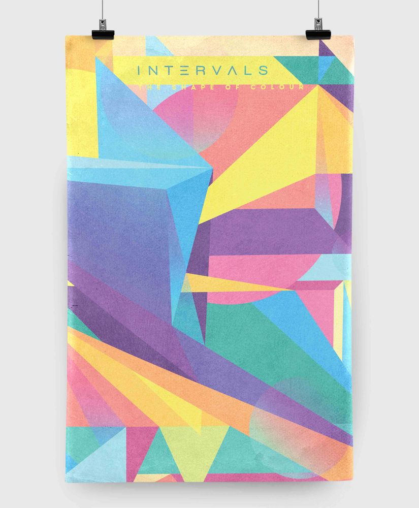 Intervals - The Shape of Colour - 11x17 Print