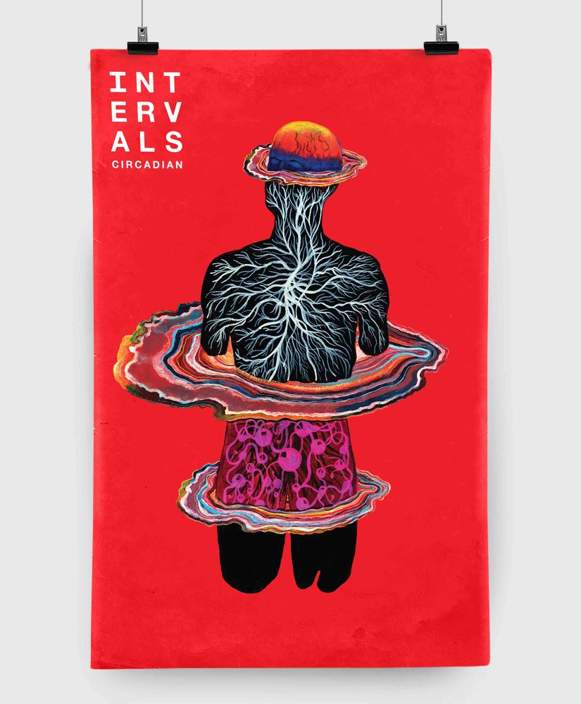 Intervals - Circadian - 11x17 Print