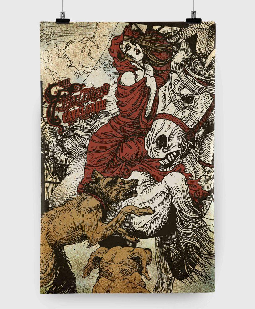 The Flatliners - Cavalcade - 11x17 Print