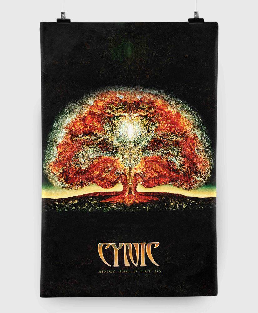 Cynic - Kindly Bent to Free Us - 11x17 Print