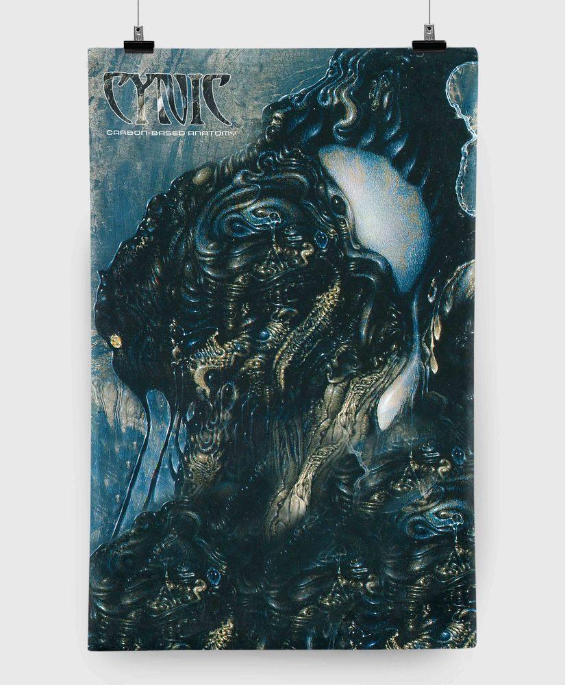 Cynic - Carbon Based Anatomy - 11x17 Print