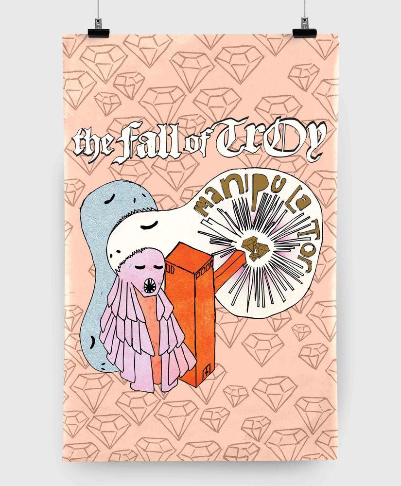 The Fall Of Troy - Manipulator - 11x17 Print