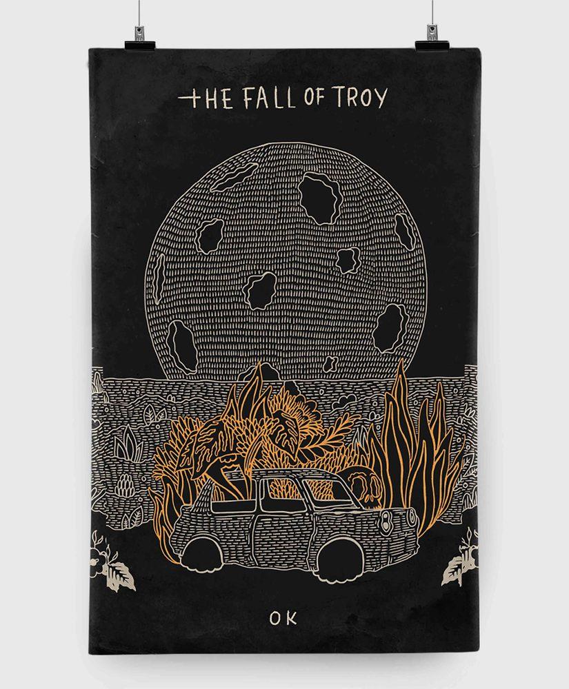 The Fall Of Troy - OK - 11x17 Print