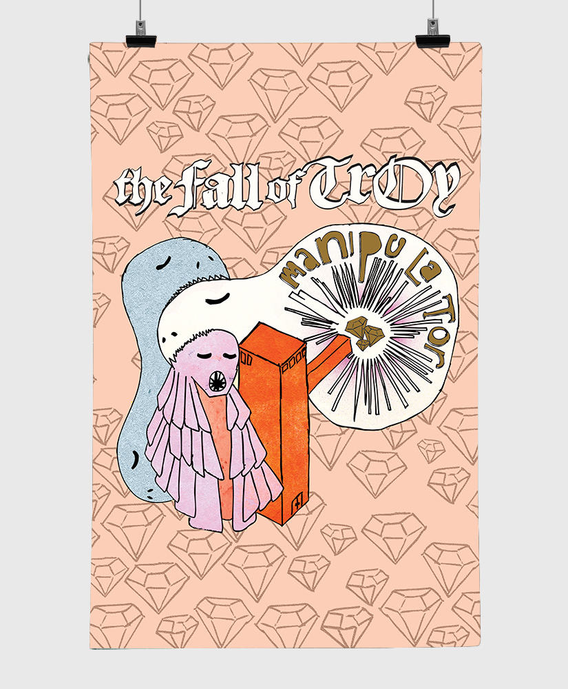 The Fall Of Troy - Manipulator - Limited Edition 11x17 Print