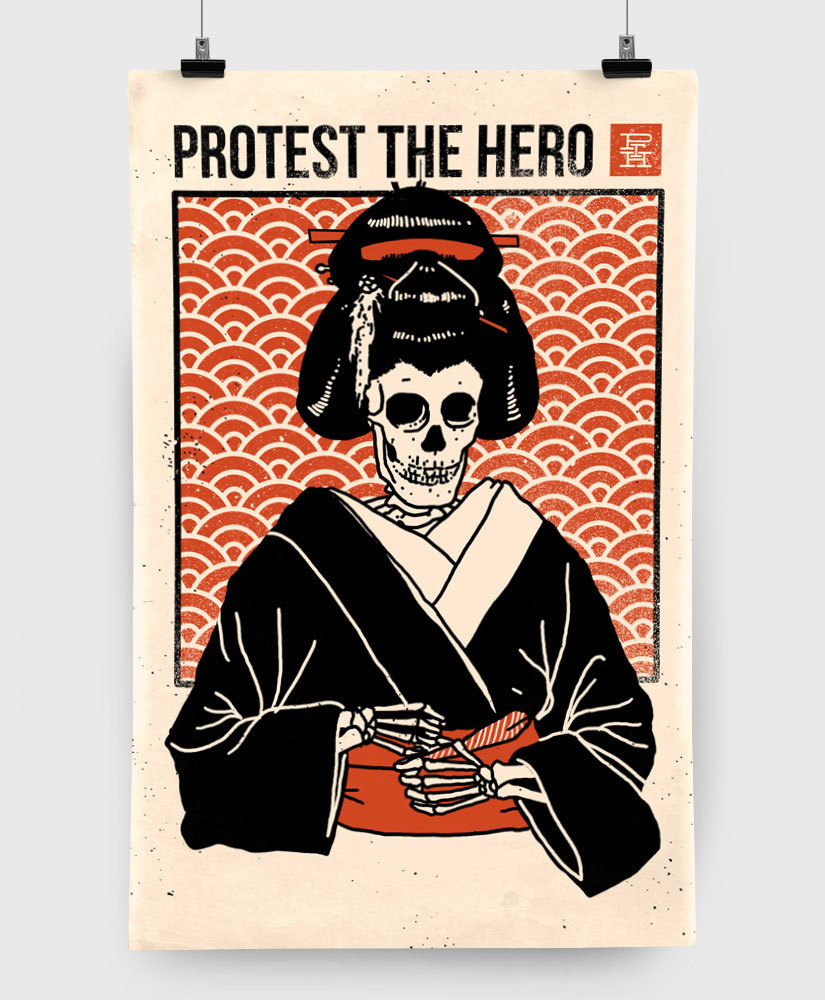 Protest The Hero - Geisha - Limited Edition 11x17 Print