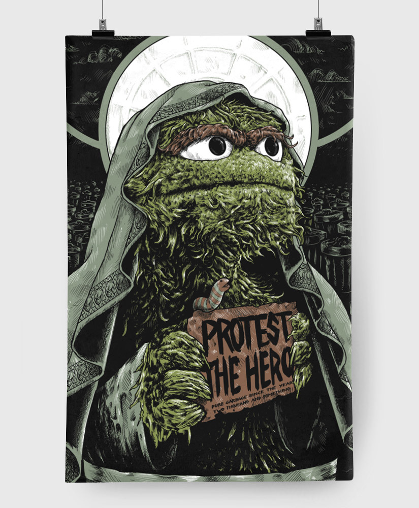 Protest The Hero - Pure Garbage - Limited Edition 11x17 Print