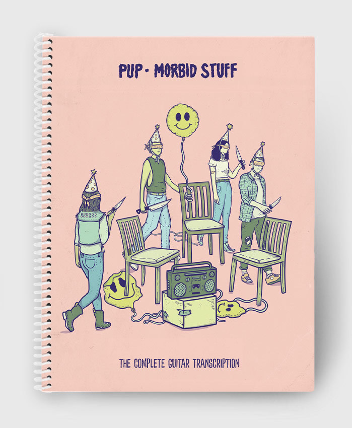 PUP - Morbid Stuff - The Complete Guitar Transcription