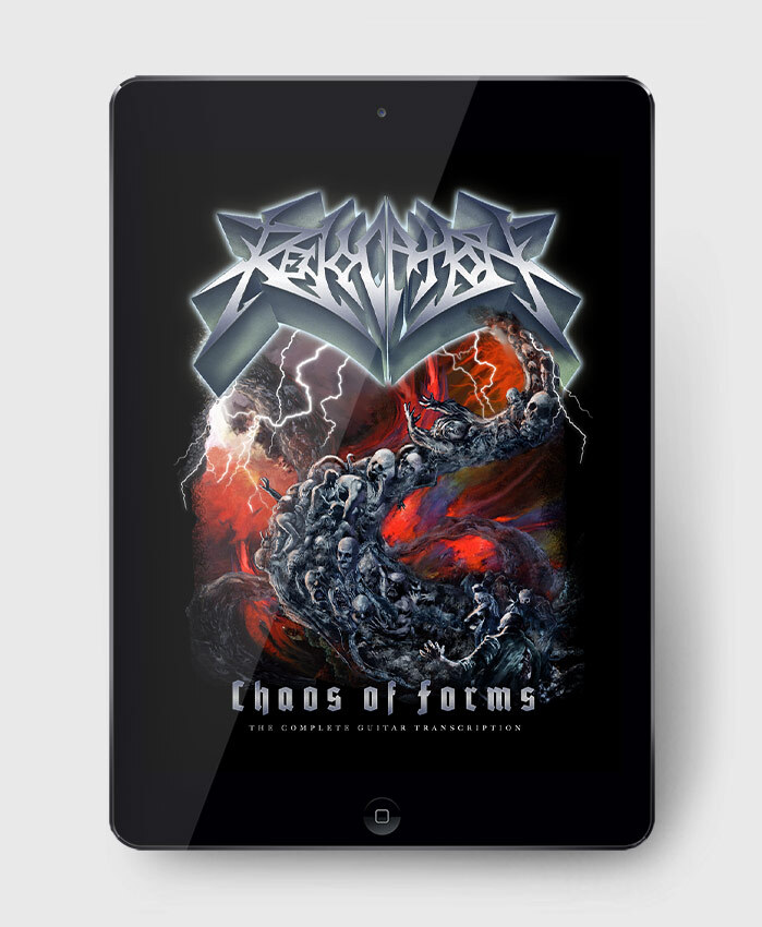 Revocation - Chaos of Forms - The Complete Guitar Transcription