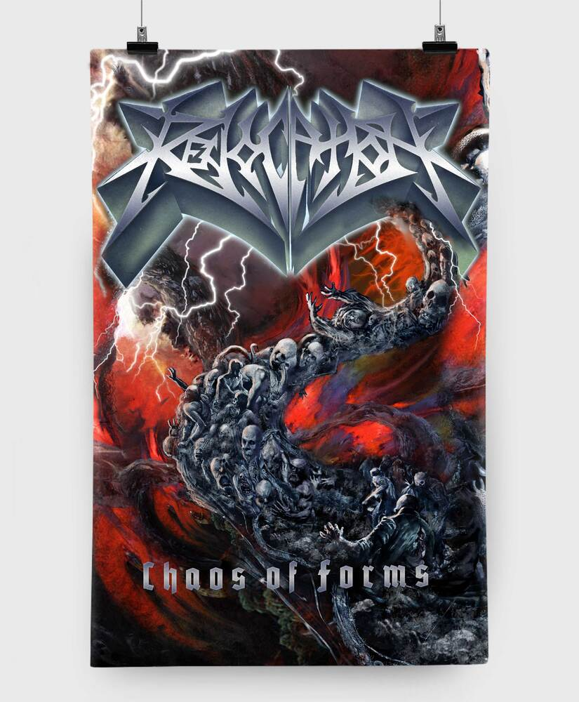 Revocation - Chaos of Forms - 11x17 Print