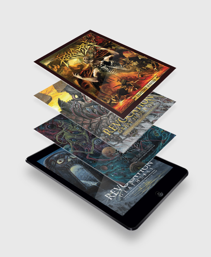 Revocation - Anthology 4-Pack - The Complete Guitar Transcriptions