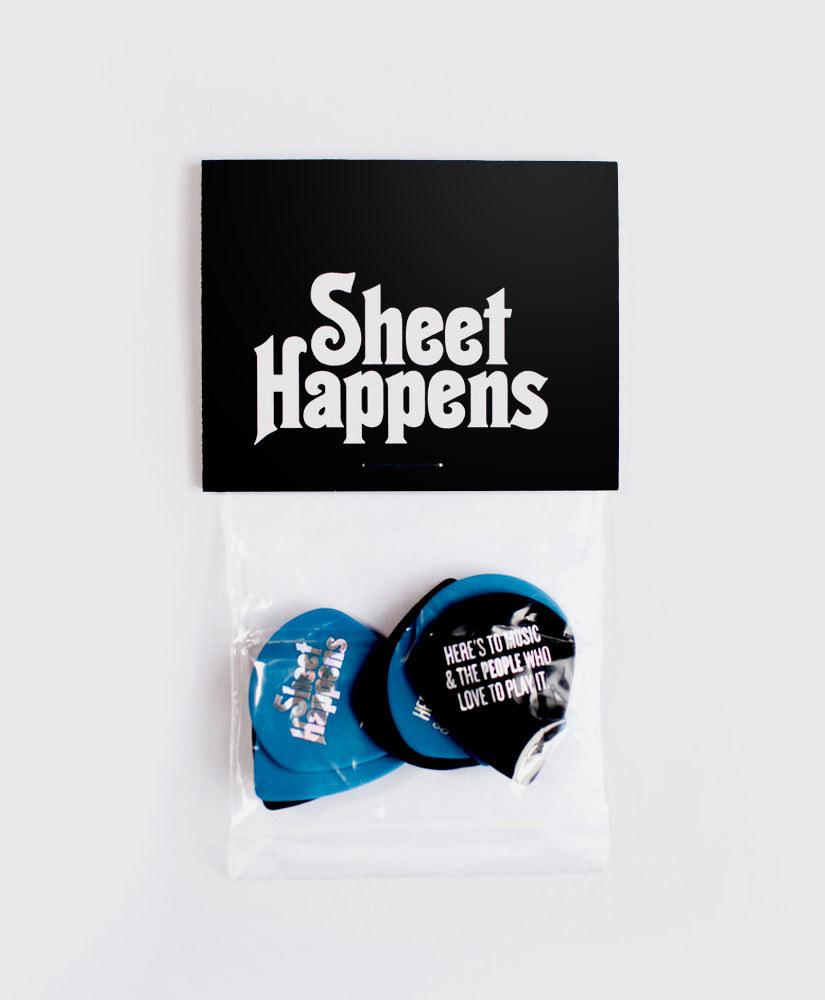 - SH Pick Pack - Custom Dunlop Jumbo Jazz Picks