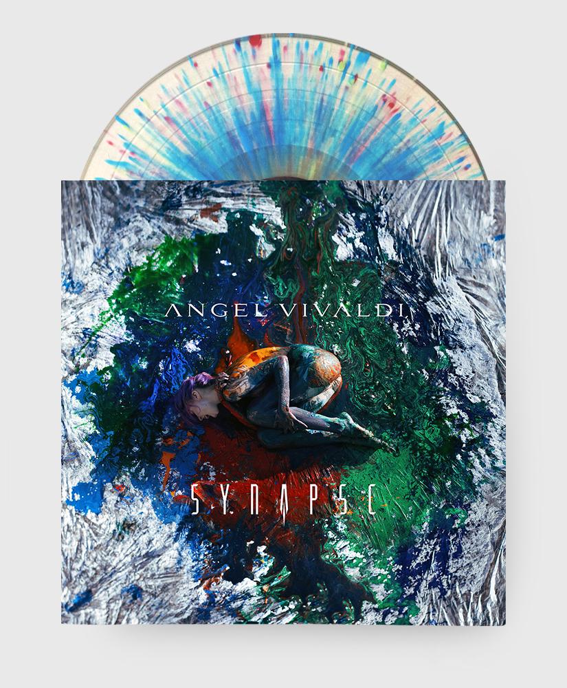 Angel Vivaldi - Synapse - Neuro-Splatter Vinyl