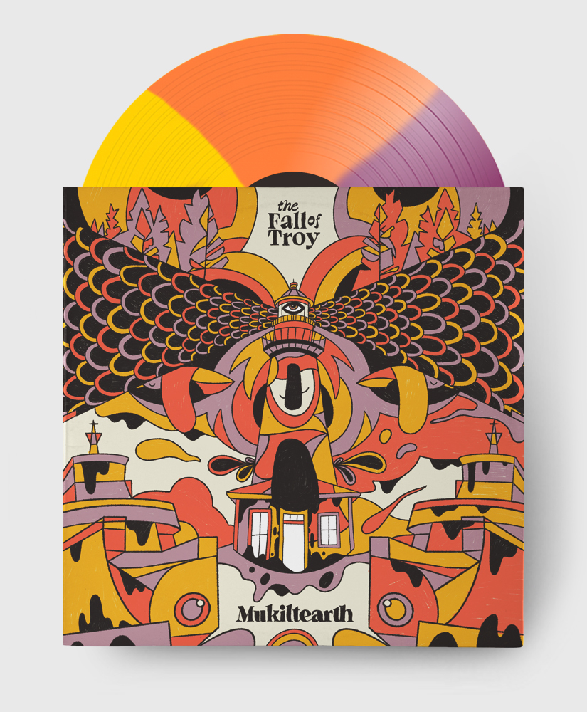 The Fall Of Troy - Mukiltearth - Purple, Yellow & Orange Tricolour Vinyl