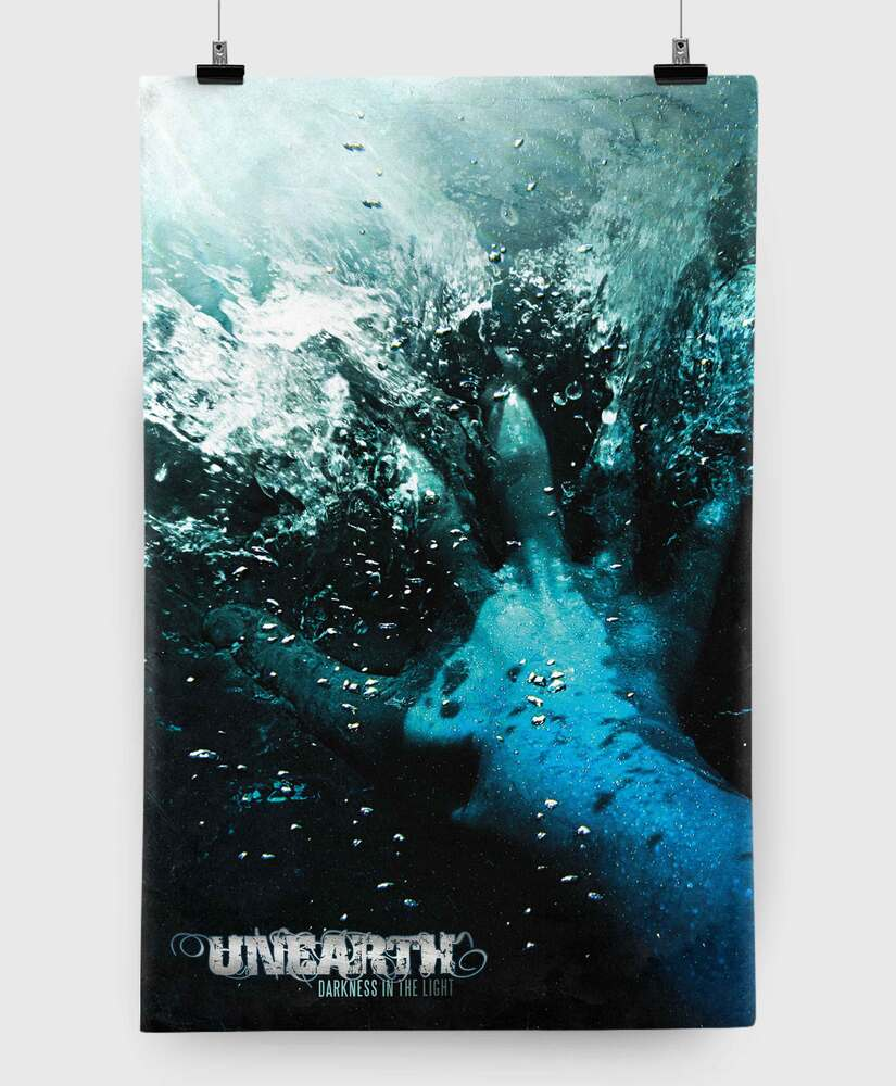 Unearth - Darkness in the Light - 11x17 Print