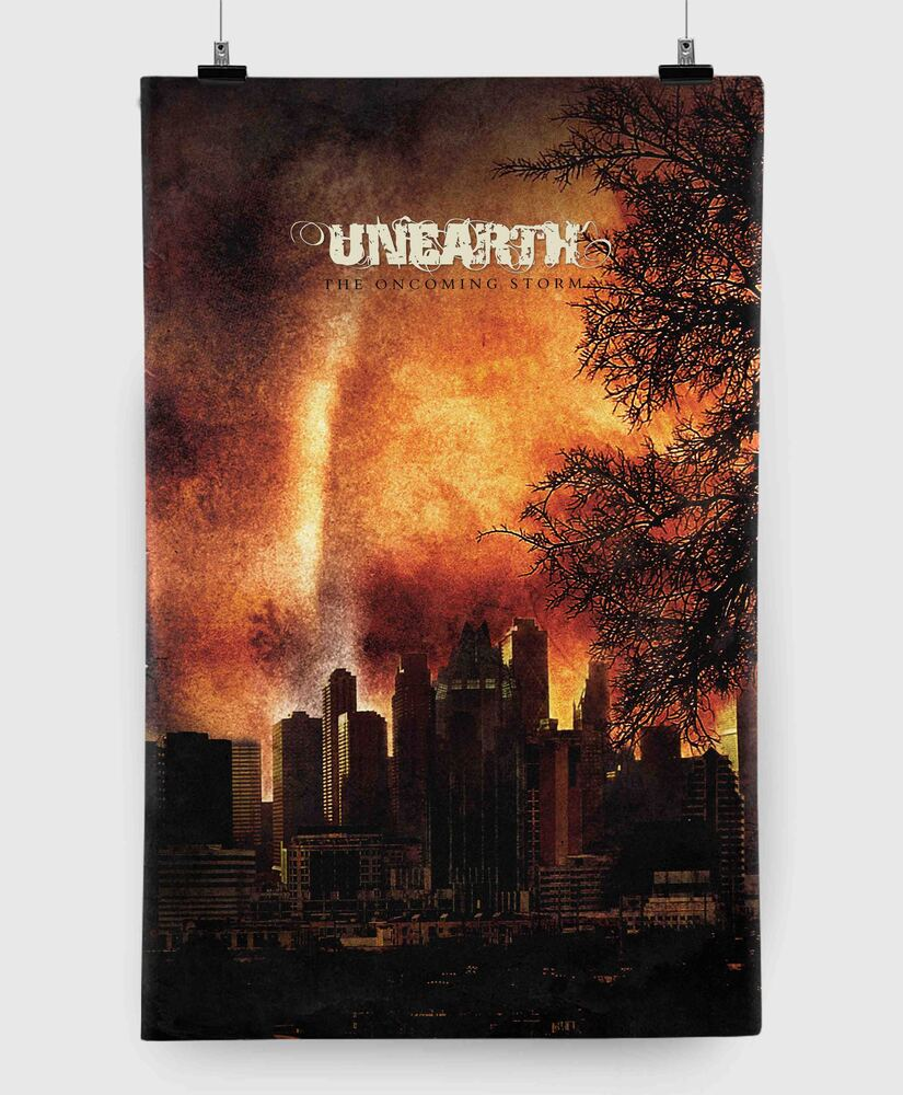 Unearth - The Oncoming Storm - 11x17 Print