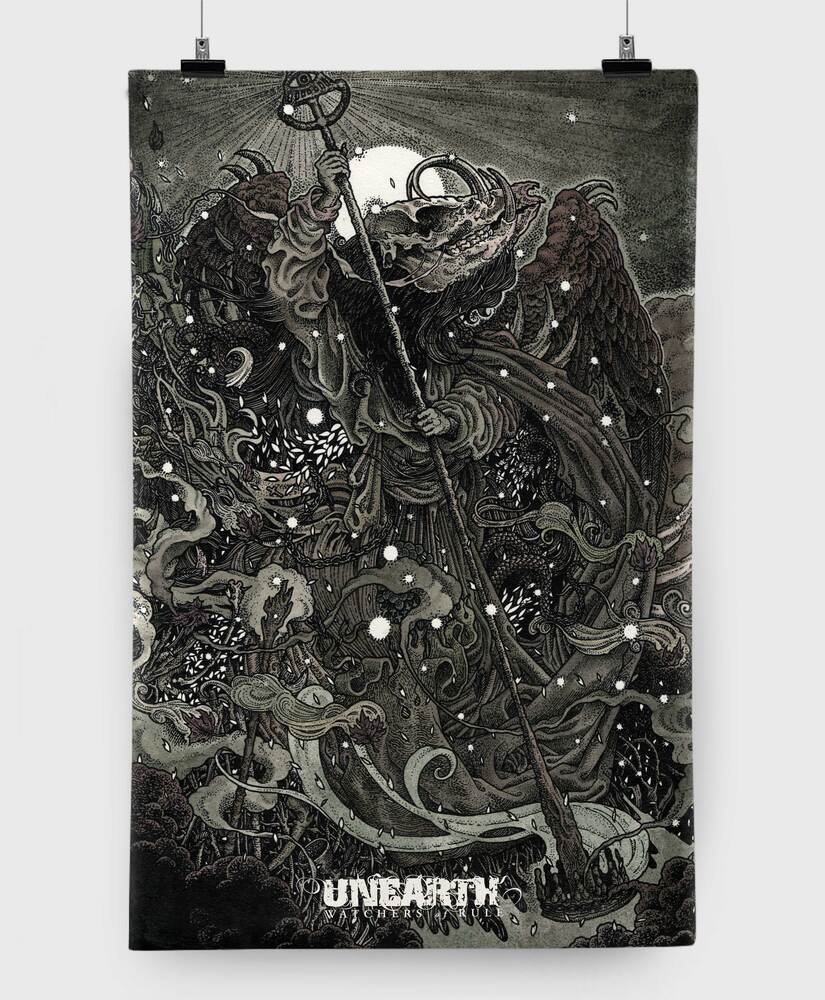 Unearth - Watchers of Rule - 11x17 Print