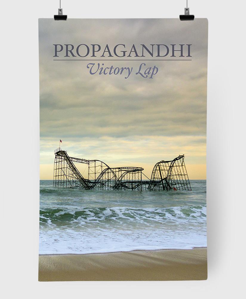 Propagandhi - Victory Lap - Limited Edition 11x17 Print