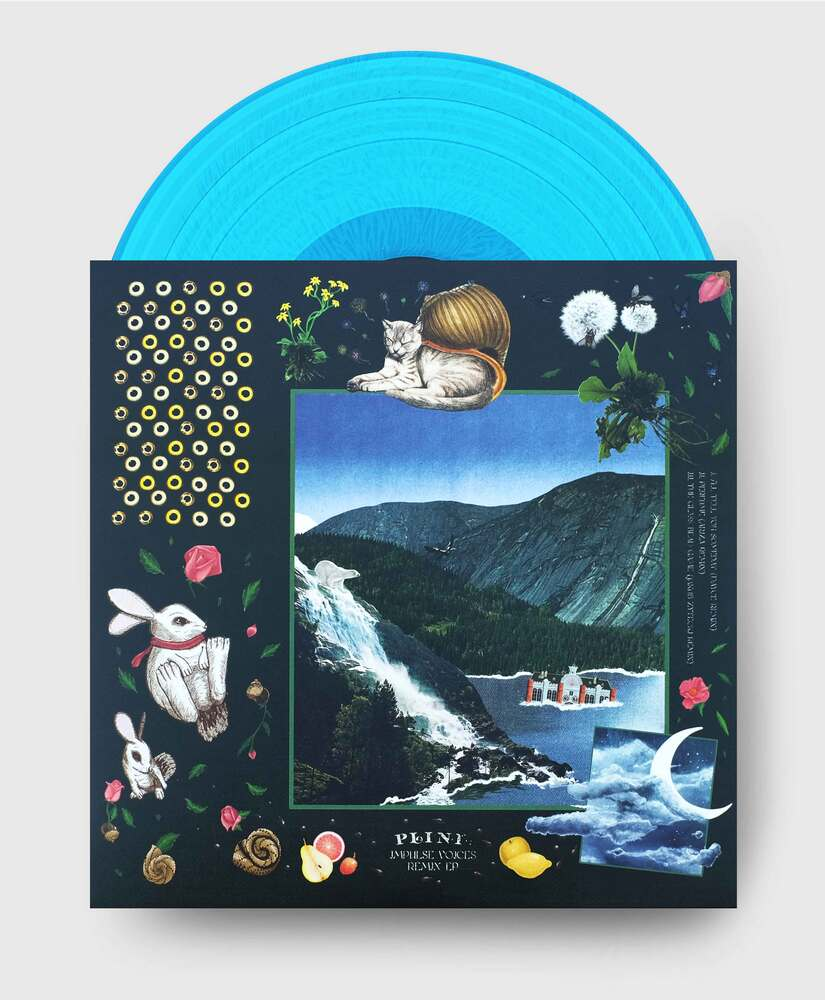 Plini - Impulse Voices (Remixes) - Hedgehog-Blue Etched Vinyl