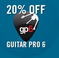 20% Off Guitar Pro 6